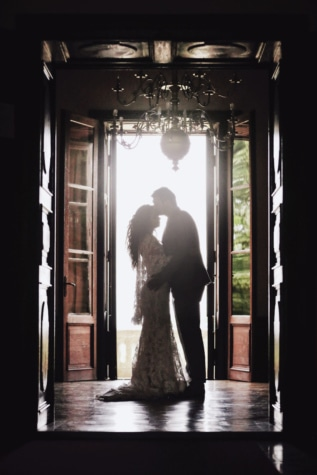 dress, entrance, front door, glamour, hotel, interior decoration, light, luxury, man, pretty girl