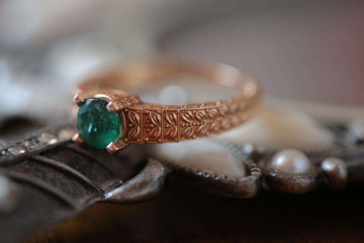 close-up, gold, jewel, ring, jewelry, wedding, shining, fashion, luxury, beads