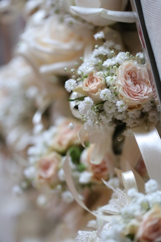 close-up, interior decoration, roses, wedding bouquet, flower, love, bouquet, romance, ceremony, decoration