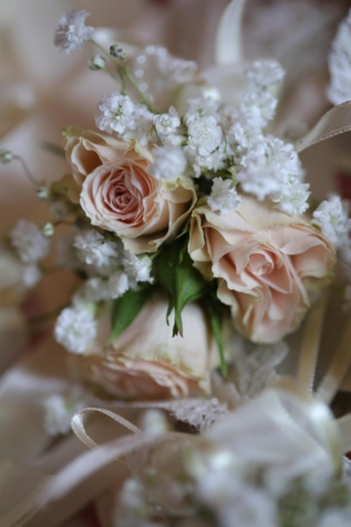 bouquet, roses, wedding, wedding bouquet, white flower, love, arrangement, romance, flowers, decoration