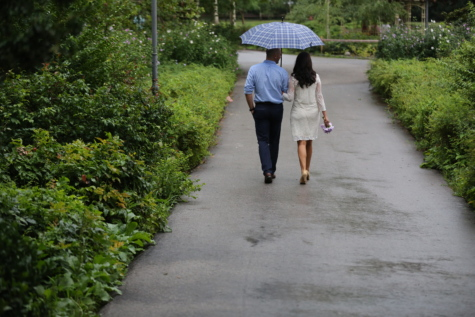 boyfriend, girlfriend, lifestyle, marriage, rain, road, spring time, walking, wedding, girl