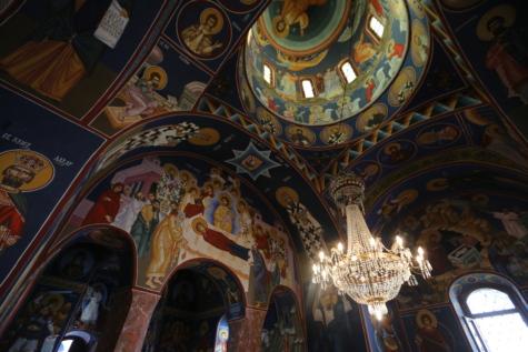 олтар, Византийски, катедрала, параклис, култура, купол, изящни изкуства, религиозни, духовност, стени