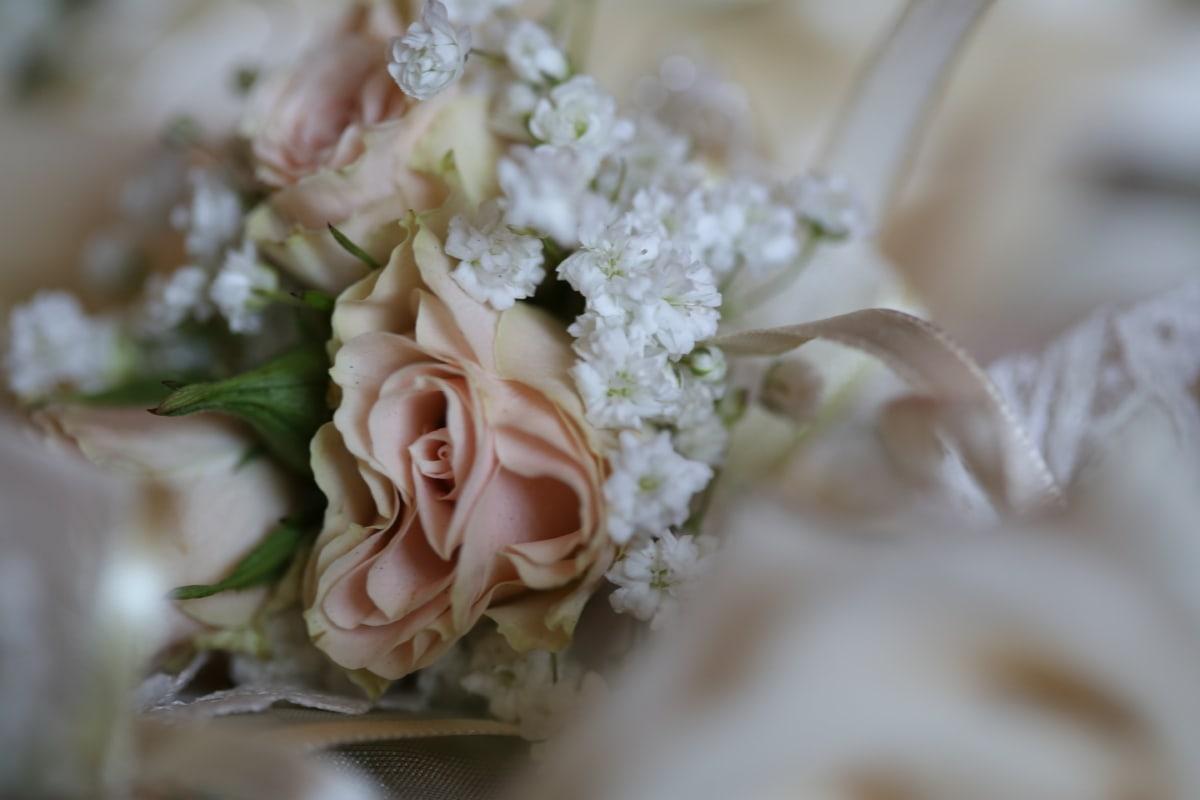 detail, flowers, roses, silk, symbol, wedding bouquet, arrangement, rose, flower, bouquet