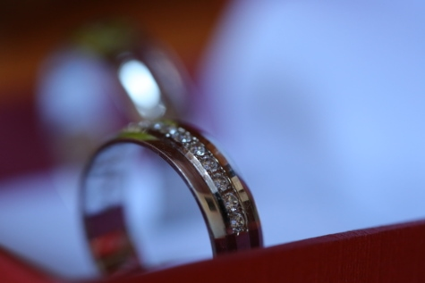 brilliant, detail, diamond, golden glow, handmade, luxury, silver, wedding ring, wedding, blur