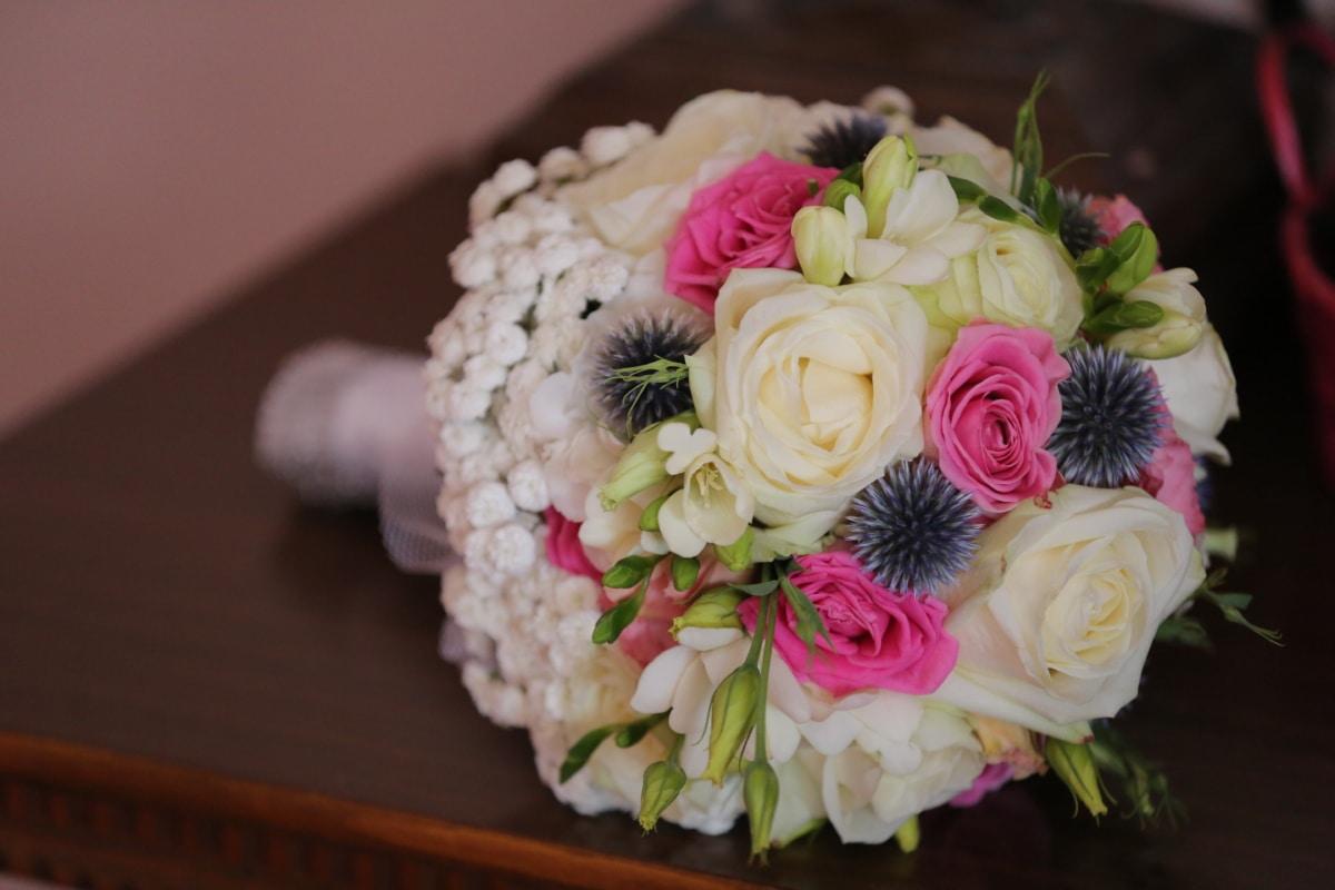 wedding bouquet, arrangement, bouquet, romance, decoration, flower, wedding, love, rose, groom