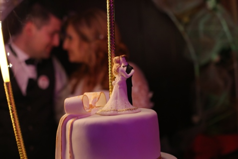 bride, groom, wedding cake, wedding, love, woman, candle, people, man, celebration