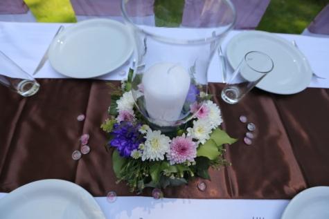 трапезария, цвете, нож, букет, цветя, таблица, романтика, Прибори за хранене, приемане, Прибори за хранене