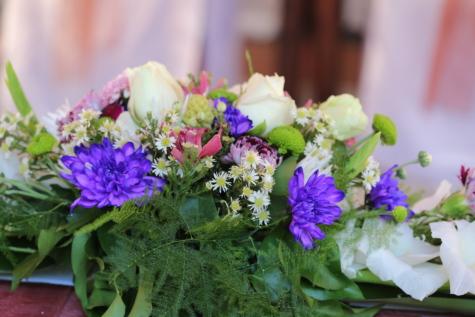 花束, 花, 自然, 装飾, 結婚式, 愛, 配置, 花, ロマンス, 夏