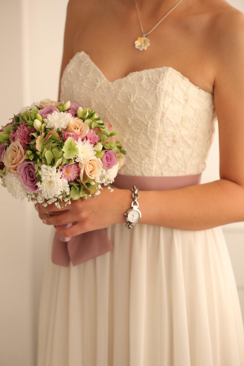 body, pretty girl, skin, wedding, wedding bouquet, wedding dress, love, marriage, superior, bride