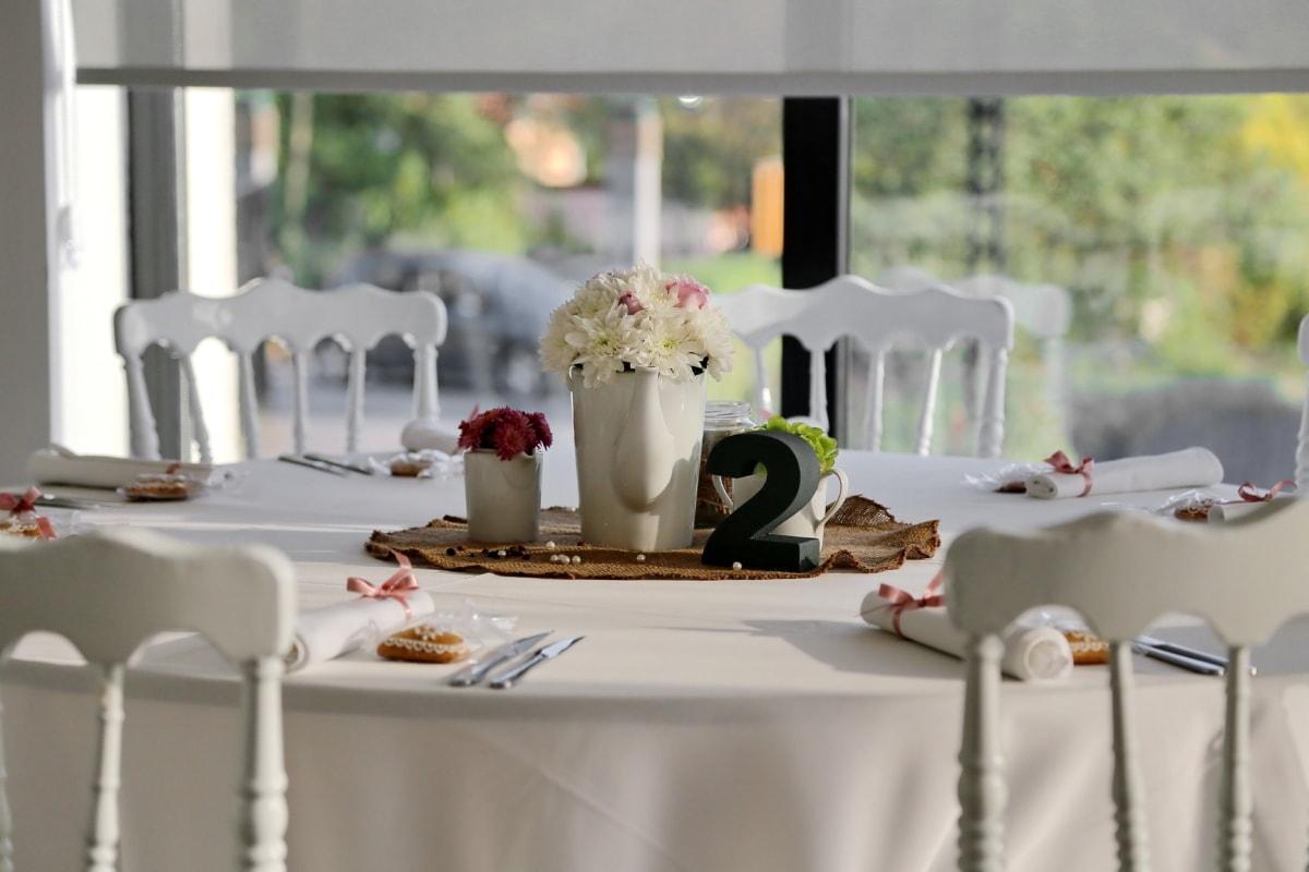 кафене, трапезария, елегантност, елегантна, хотел, закусвалня, Ресторант, мебели, трапезария, Прибори за хранене