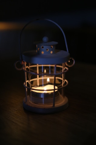 candle, candlelight, candlestick, darkness, flame, illumination, lantern, light, lamp, dark