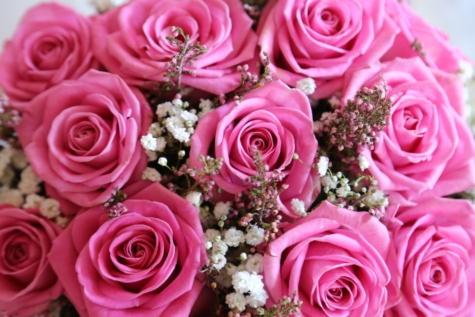 yıldönümü, pastel, Pembemsi, düğün buketi, Düğün, Gül, aşk, evlilik, çiçek, buket