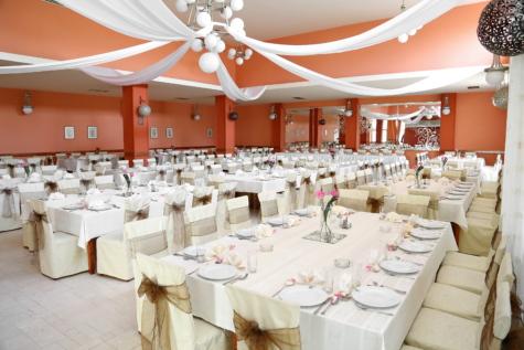 feiring, stoler, interiør, tabeller, bryllup, selskapslokale, hall, restaurant, tabell, interiør