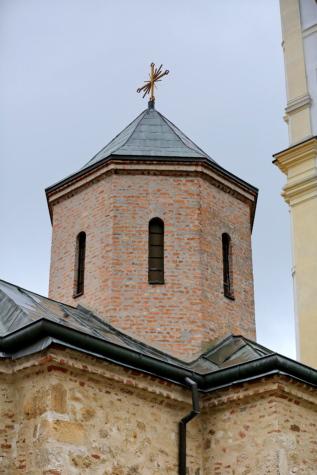 фасада, църква, сграда, религия, архитектура, кула, кръст, стар, древен, покрив