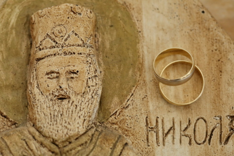 carvings, gold, religion, saint, sculpture, Serbia, wedding ring, yellowish brown, old, ancient