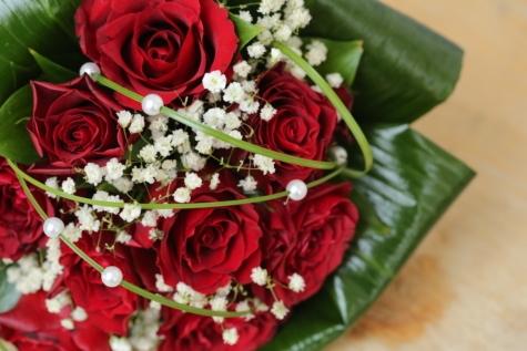 green leaves, rosette, wedding bouquet, love, wedding, romance, arrangement, marriage, bouquet, bride