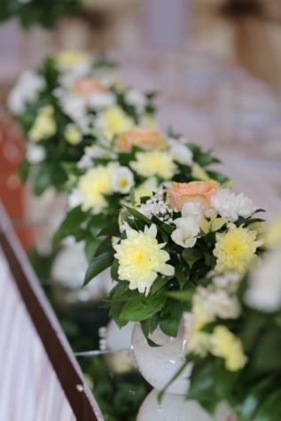 花束, 間近, 室内装飾, スティル ・ ライフ, 工場, 花, 愛, 結婚式, ロマンス, 葉