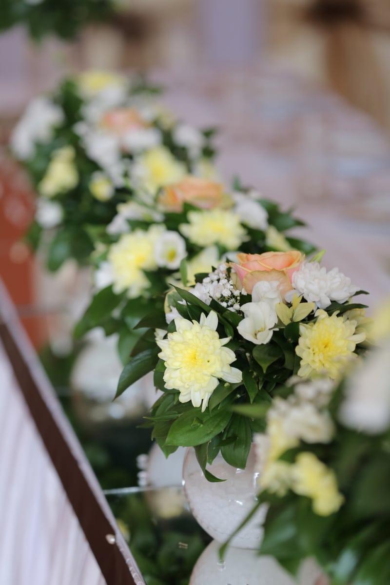 Blumenstrauß, aus nächster Nähe, Innendekoration, Still-Leben, Anlage, Blume, Liebe, Hochzeit, Romantik, Blatt
