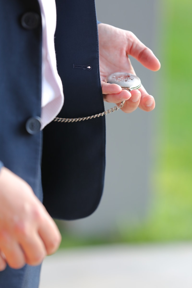 analog clock, businessman, chain, elegance, fashion, hands, style, nature, outdoors, business
