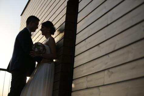 hengivenhed, smuk, Smuk pige, skygge, smil, væg, bryllup, bryllup buket, bryllupskjole, brudgom