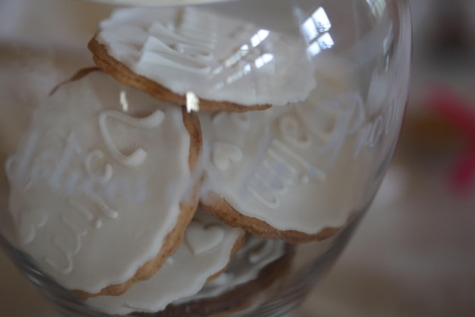 bowl, cookies, cream, merchandise, food, dessert, pudding, delicious, sugar, baking