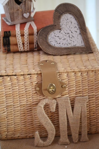 books, box, handmade, hearts, luggage, romantic, still life, wicker basket, wooden, traditional