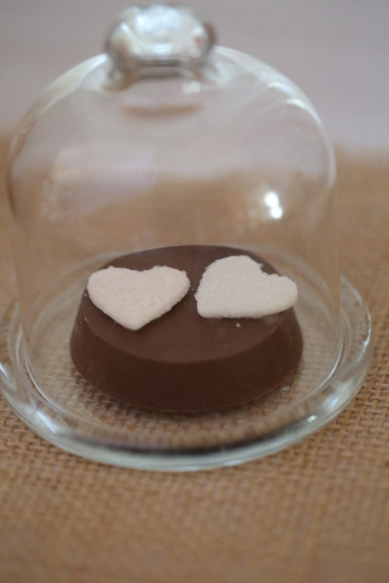 bell, chocolate, delicious, elegance, glass, handmade, hearts, love, romantic, transparent