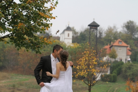 hengivenhed, forretningsmand, smukke, kys, partnere, partnerskab, Smuk pige, sammen, bryllup, bryllupskjole