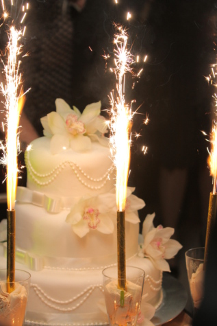 ceremony, decoration, event, spark, wedding, wedding cake, candle, celebration, cake, candles
