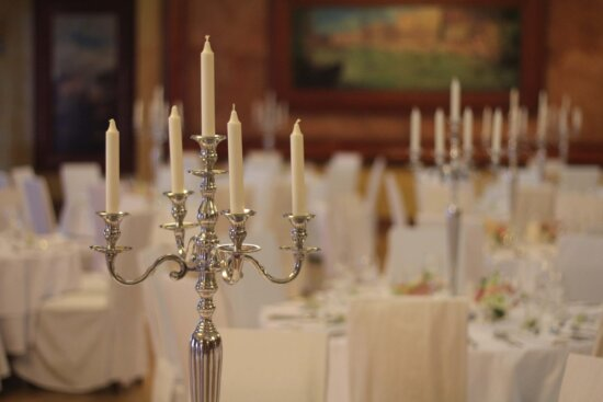 candles, candlestick, dining area, fancy, luxury, candle, holder, candlelight, interior design, dining