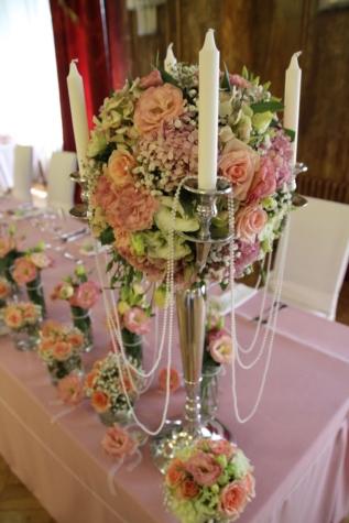 Kerzen, Leuchter, Innendekoration, Hochzeit, Hochzeitsstrauß, Blumenstrauß, Dekoration, Anordnung, Vase, Blumen