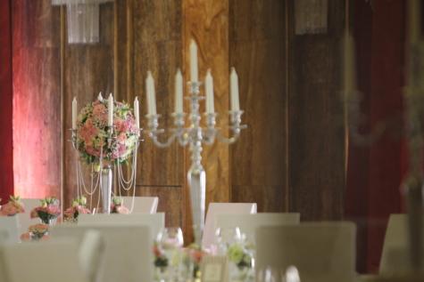 barock, ljus, ljusstake, ceremoni, elegans, handgjorda, inredning och design, parti, bröllop, altaret