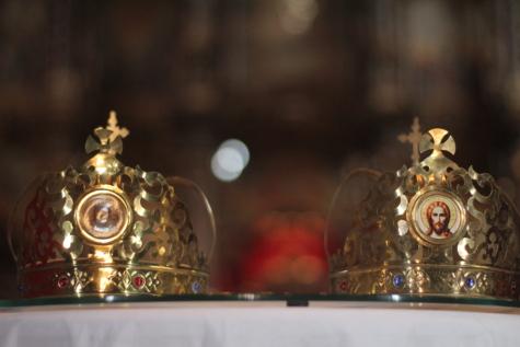 крещение, христианство, Корона, аксессуар, ювелирные изделия, религиозные, сияющий, золото, украшения, люкс
