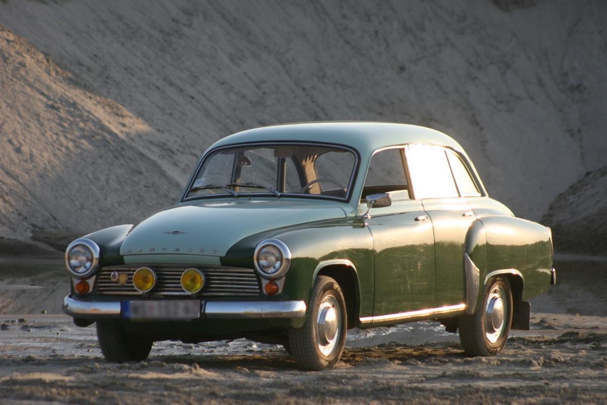 thuở xưa, xe sedan, ánh nắng mặt trời, xe hơi, nỗi nhớ, cồn cát, đèn pha, kính chắn gió, giao thông vận tải, xe