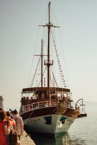 Ecoturismo, velero, zona turística, atracción turística, barco, Mar, puerto, pescador, Puerto, nave