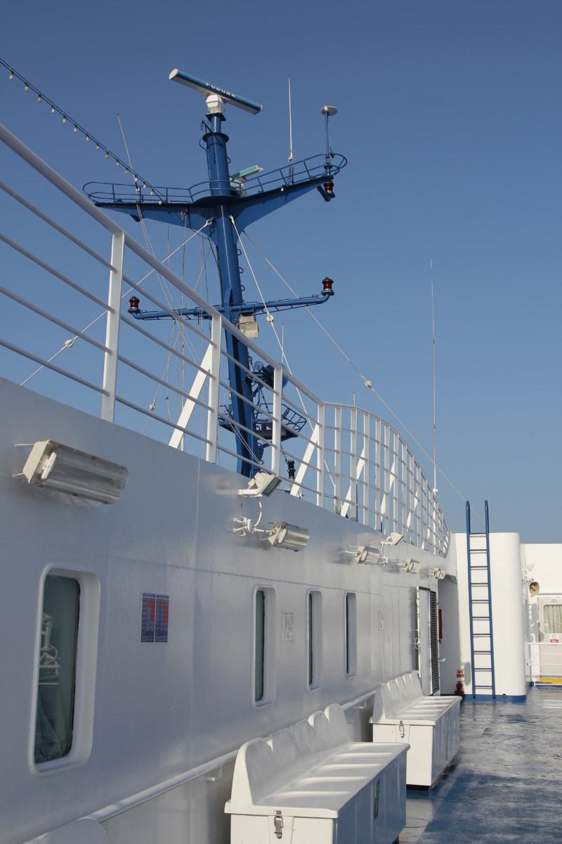 radio antenna, cruise ship, antenna, radio station, communication, radio receiver, voltage, industry, wire, cable