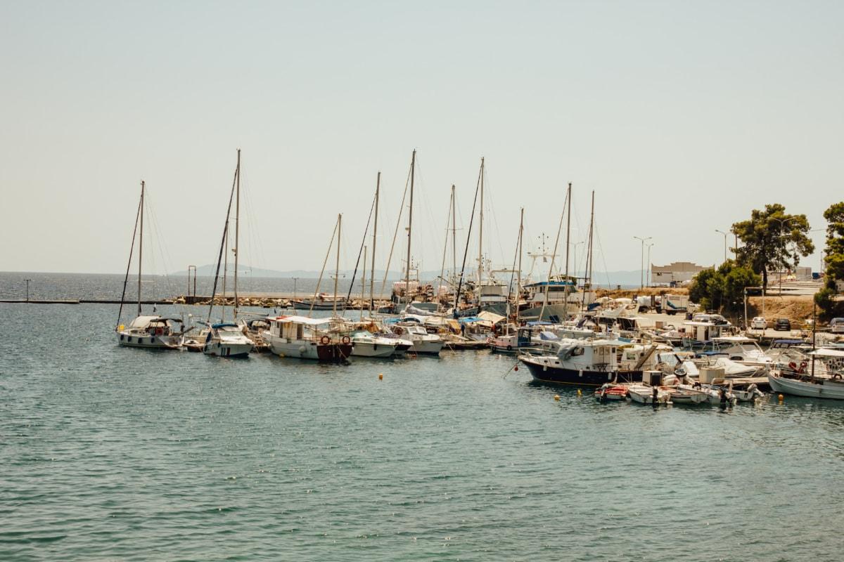 yacht club, marine, yachts, sailboat, summer season, boat, marina, ship, water, harbor
