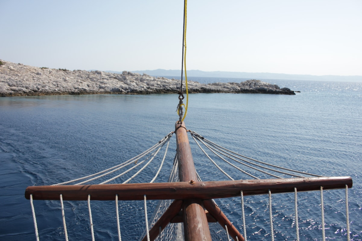 rope, sailing, sailboat, equipment, gear, water, pier, architecture, boat, sea