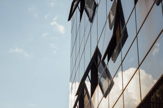 windows, open, reflection, glass, buildings, architecture, downtown, city, high, steel