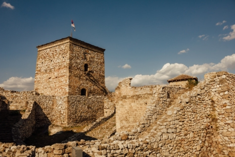 fortification, tower, rampart, stones, walls, medieval, architecture, wall, fortress, ancient