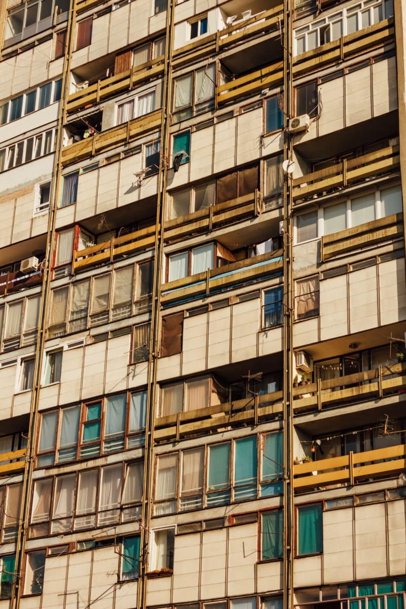 socialism, apartments, suburban, architectural style, urban area, windows, urban, city, building, architecture
