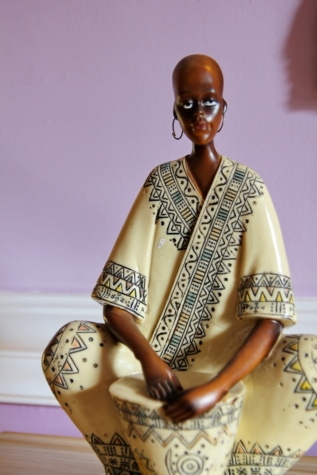 figurine, handmade, woman, Africa, artwork, carving, detail, style, craft, details