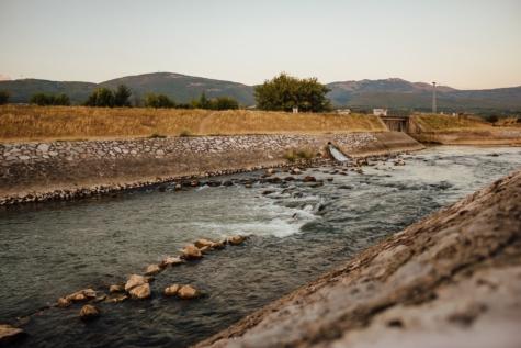 ร่อง, ฝั่งแม่น้ำ, เขื่อน, น้ำขึ้นน้ำลง, ธรรมชาติ, น้ำ, แม่น้ำ, ภูมิทัศน์, ทะเลสาบ, พระอาทิตย์ตก