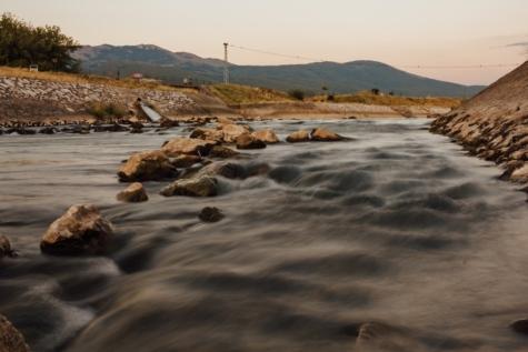 Flussbett, Flussufer, Fluss, Fluss-Bassin, Landschaft, Küste, Strand, Küste, Wasser, Ozean