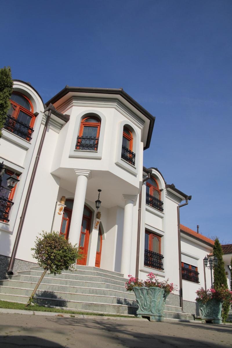 imobiliária, residente, propriedade, porta da frente, casa, agregado familiar, arquitetura, fachada, edifício, janela
