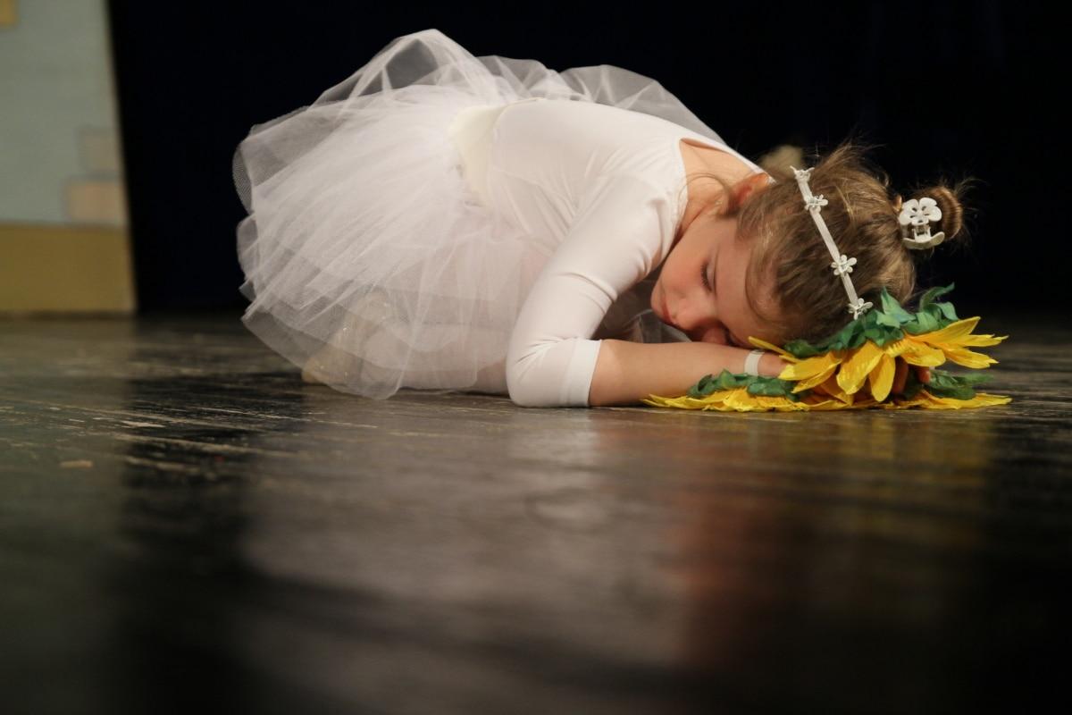 Ballet, nina bonita, rendimiento, bailarina, Teatro, vestido, arte, mujer, chica, moda