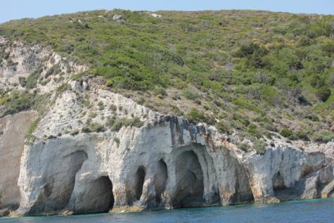 maanalainen, luola, rantakallio, maisema, meren rannalla, valtameri, vesi, meri, kallio, ranta