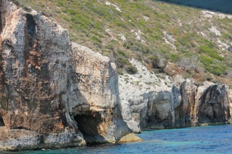 rantakallio, isot kivet, kiviä, maisema, kallio, meri, luonto, meren rannalla, vesi, valtameri