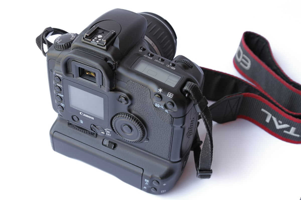 цифров фотоапарат, каишка, професионални, фотография, батерия, Оборудване, леща, камера, технология, филм
