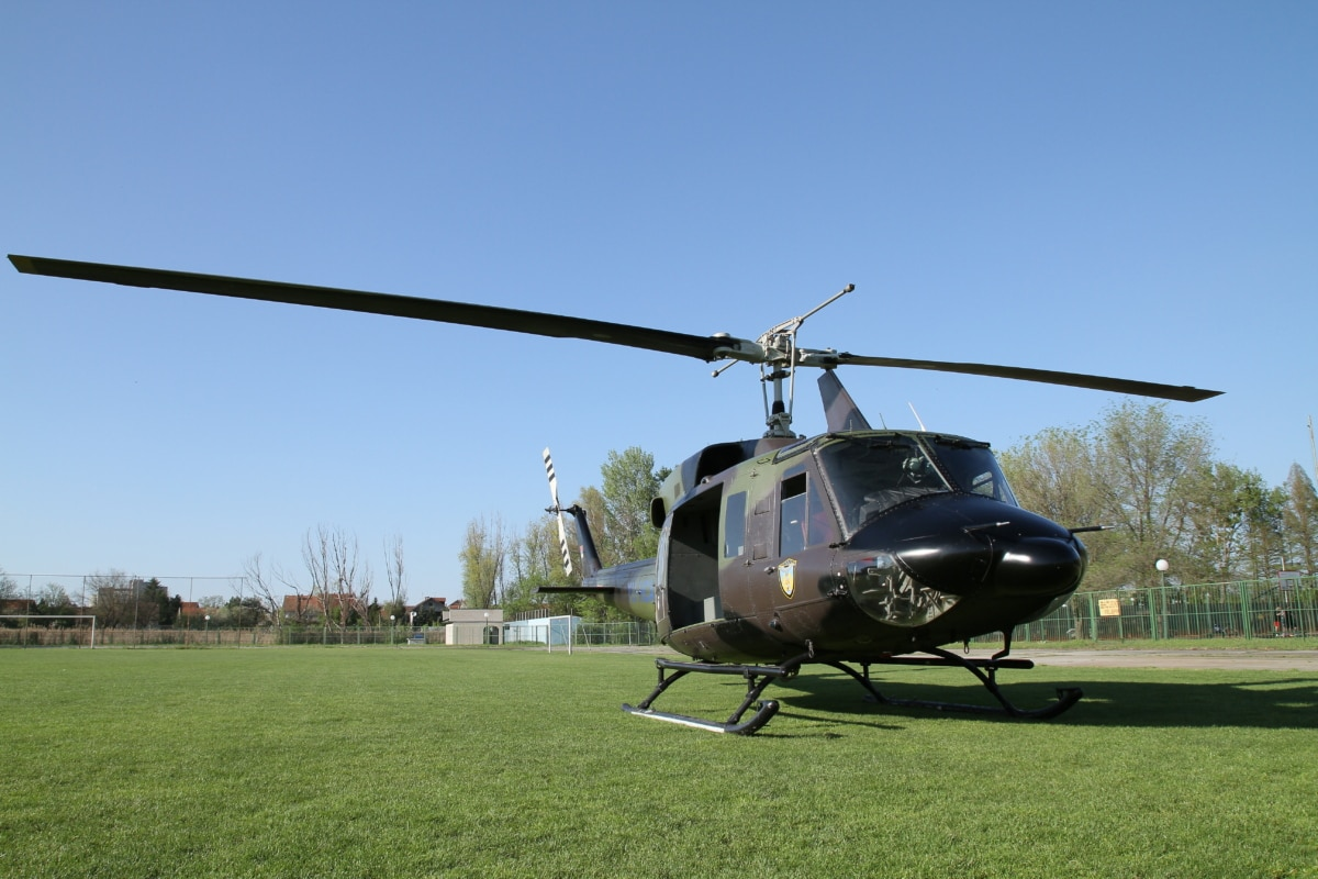 army, helicopter, war, military, air force, flight, rotor, device, grass, outdoors